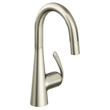 Grohe 32283DC0 Ladylux Bar Prep Dual Spray Pull Down Kitchen Faucet - SuperSteel