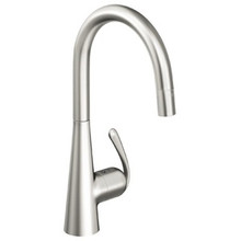 Grohe 32226000 Ladylux Single Handle Dual Spray Pull-down Kitchen Faucet - Chrome