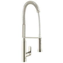 Grohe 32951DC0 K7 Semi-professional Dual Spray Spring Spout Pull Down Kitchen Faucet  - SuperSteel