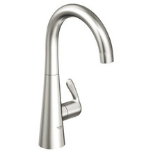 Grohe 30026SD0 Ladylux Single Handle Cold Water Faucet - Stainless Steel