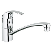 Grohe 31321001 Eurosmart Single Handle Kitchen Faucet With Swivel Spout - Chrome
