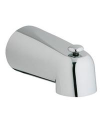 """Grohe 13611EN0 5"""" Diverter Tub Spout - Brushed Nickel"""