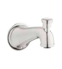 Grohe 13603EN0 Seabury Wall Mounted Diverter Tub Spout - Brushed Nickel