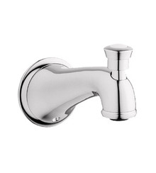 Grohe 13603BE0 Seabury Wall Mounted Diverter Tub Spout - Polished Nickel