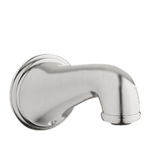 Grohe 13612EN0 Geneva Wall Mount Tub Spout - Brushed Nickel