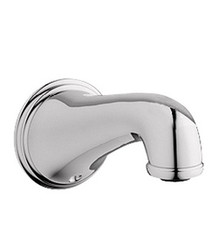 Grohe 13612BE0 Geneva Wall Mount Tub Spout - Polished Nickel