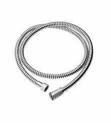 "Grohe 28143000 59"" Duralife Metal Hand Shower Hose - Chrome"