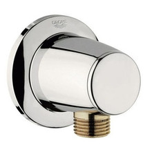 Grohe 28459BE0 Movario Wall Union Supply Elbow- Polished Nickel