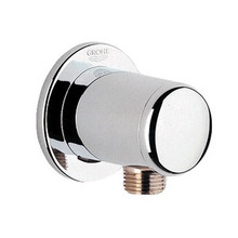 "Grohe 28672000 Accessories 1/2"" Hand Shower Wall Union Supply Elbow - Chrome"