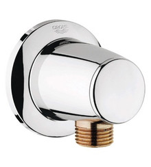 Grohe 28459000 Accessories Movario Wall Union Supply Elbow - Chrome