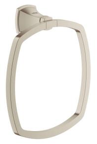 Grohe 40630EN0 Grandera Towel Ring - Brushed Nickel