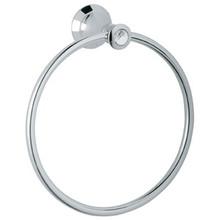 Grohe 40222VP0 Kensington Towel Ring - Chrome / Swarovski Crystal