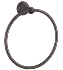 Grohe 40158ZB0 Seabury Towel Ring - Oil Rubbed Bronze