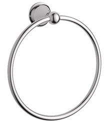 Grohe 40158BE0 Seabury Towel Ring - Polished Nickel