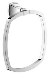 Grohe 40630000 Grandera Towel Ring - Chrome
