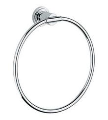 Grohe 40307000 Atrio Towel Ring - Chrome