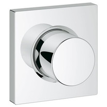 Grohe 27623000 Grohtherm Square Volume Control Trim Set - Chrome