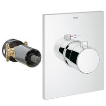 Grohe 27620000 Grohflex Grotherm Thermostatic Valve Trim With Control Module - Chrome