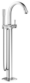 Grohe 23318000 Grandera Floor Standing Tub Filler Faucet with Handshower - Chrome