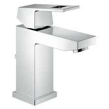 Grohe 23129000 Eurocube Ecojoy Single Handle Square Lavatory Faucet - Chrome