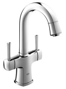 Grohe 21108000 Grandera Two Handle Single Hole Lavatory Faucet - Chrome