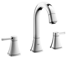 Grohe 20419000 Grandera Two Handle Widespread Lavatory Faucet - Chrome