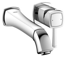 Grohe 19931000 Grandera Single Handle Wall Mount Vessel Faucet - Chrome