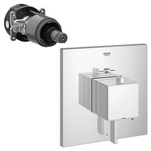 Grohe 19926000 Eurocube Single Function Thermostatic Valve Trim With Control Module - Chrome