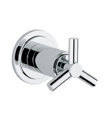 Grohe 19888000 Atrio Trio Volume Control Valve Trim - Chrome
