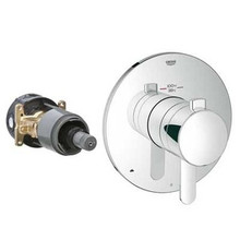 Grohe 19878000 Grohflex Cosmopolitan Dual Function Thermostatic Valve Trim With Control Module - Chrome