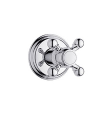 Grohe 19829000 Geneva Volume Control Valve With Cross Handle Trim - Chrome