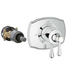 Grohe 19822000 Grohflex Authentic Single Function Thermsostatic Trim With Control Module - Chrome
