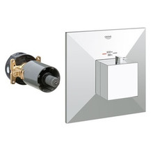 Grohe 19795000 Allure Brilliant Custom Shower Thermostatic Valve Trim With Control Module - Chrome