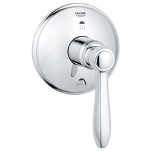 Grohe 19318000 Somerset 3-port Diverter Valve Trim With Lever Handle - Chrome