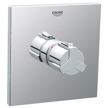 Grohe 19305000 Allure Grip Handle Thermostatic Valve Trim - Chrome