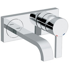 Grohe 19300000 Allure One Handle Lever Handle Wall Mount Vessel Faucet - Chrome