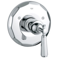 Grohe 19266000 Kensington Thermostatic Trim With Lever Handle Faucet - Chrome