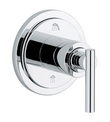 Grohe 19166000 Atrio Lever Handle 3-port Diverter Trim - Chrome