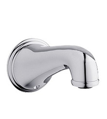 "Grohe 13612000 Geneva Wall Mount 3/4"" Inlet Tub Spout - Chrome"