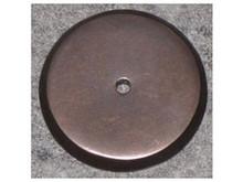 "Top Knobs M1462 MB Aspen Round Backplate 1 1/4"" - Medium Bronze"