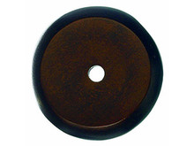"Top Knobs M1463 MCB Aspen Round Backplate 1 1/4"" - Mahogany Bronze"