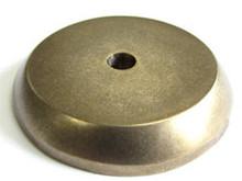 "Top Knobs M1461 LB Aspen Round Backplate 1 1/4"" - Light Bronze"