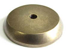 "Top Knobs M1461 LB Aspen Round Backplate 1 1/4"" - Light Bronze"
