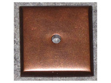 "Top Knobs M1453 MCB Aspen Square Backplate 1 1/4"" - Mahogany Bronze"
