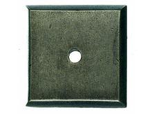 "Top Knobs M1450 SBL Aspen Square Backplate 1 1/4"" - Silicon Bronze Light"