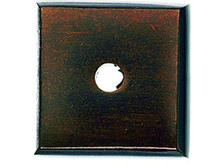 "Top Knobs M1448 MCB Aspen Square Backplate 7/8"" - Mahogany Bronze"
