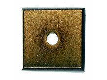 "Top Knobs M1446 LB Aspen Square Backplate 7/8"" - Light Bronze"