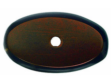 "Top Knobs M1443 MCB Aspen Oval Backplate 1 3/4"" - Mahogany Bronze"