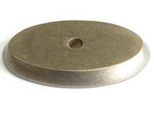 "Top Knobs M1441 LB Aspen Oval Backplate 1 3/4"" - Light Bronze"