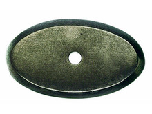 "Top Knobs M1440 SBL Aspen Oval Backplate 1 3/4"" - Silicon Bronze Light"